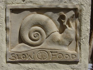 Slow Food. Photo by Leonard G. Shared under public domain.